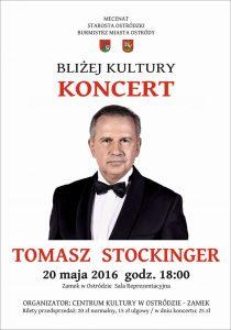 Tomasz Stockinger koncert mały
