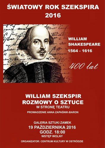 szekspir-plakat