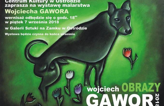 Wystawa prac Wojciecha Gawora
