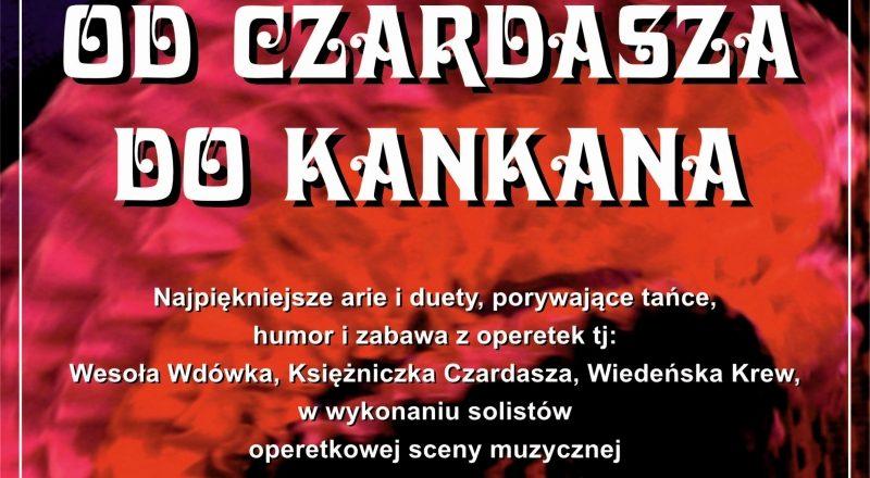 """Operetkowe hity """"Od Czardasza do Kankana"""""""